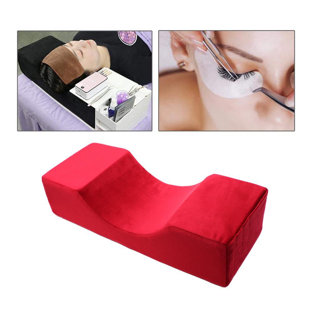Professional Beauty Salon Eyelash Grafting Pillow Waterproof Velvet Beauty Special Pillow For Eyelash Extension