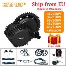 Bafang motor sem escova 1000w 750 500 350 250 bbs01bbs02b bbshd motor de bicicleta elétrica mid drive motor ebike kit conversão
