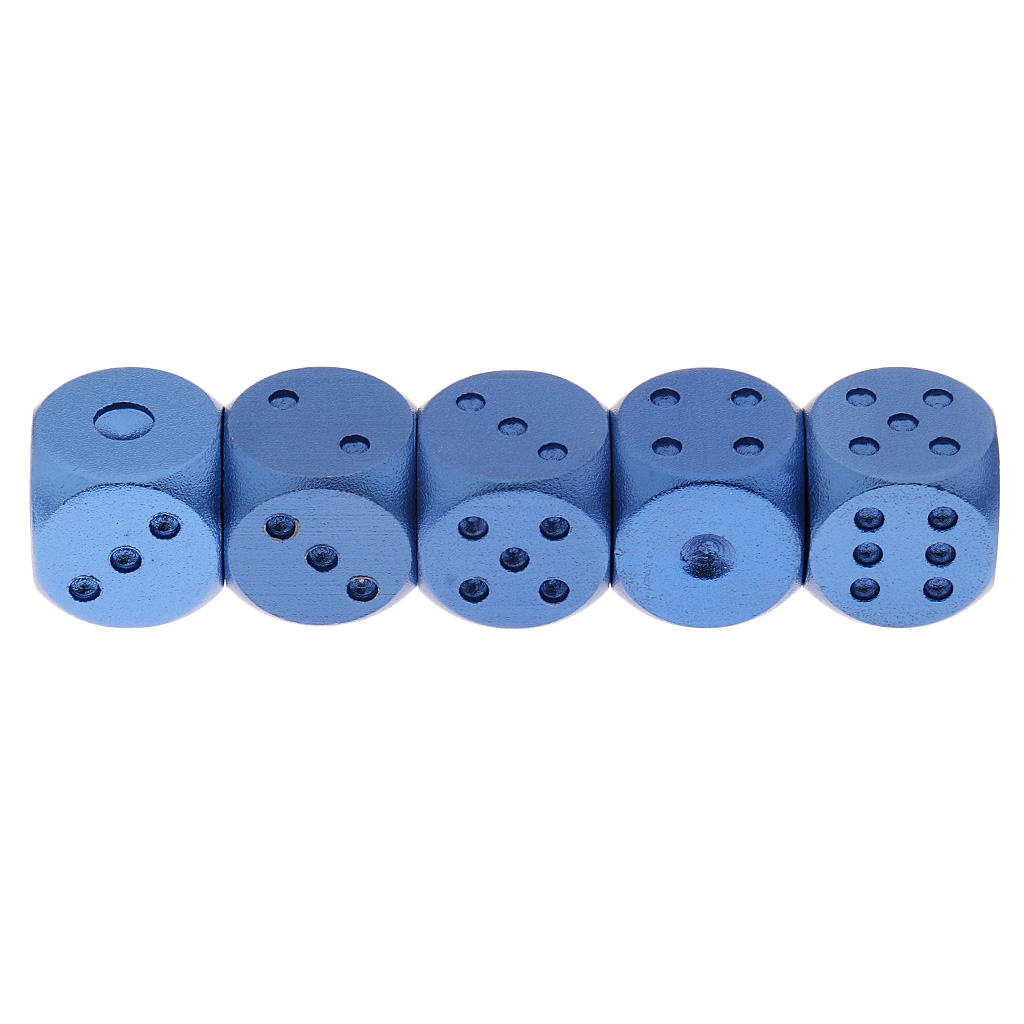 10pcs 1.5cm Dices Round Corner for Dungeons & Dragons DND MTG RPG Red & Blue