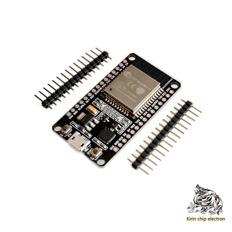 5PCS/LOT ESP32 Development Board WIFI Bluetooth 2 In 1 Dual Core ESP32 Wireless Bluetooth Module With Row Pin Without Welding