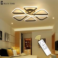 Nordic Modern Led Chandelier Living room Dining Kitchen Bedroom Lustre Black&White Ceiling Lighting Luminaires