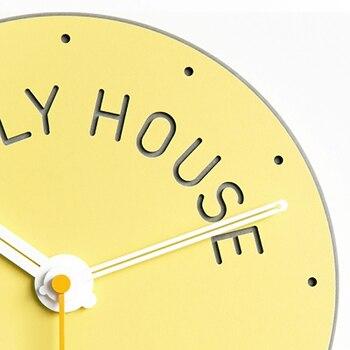 Reloj De Cuco Antiguo   Reloj De Pared Creativo 3d Pegatina Diseño Moderno Nórdico Baño Niños Reloj Jam Dinding Unik Duvar Saatlerii Hermosa Decoración WBY056