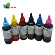 600ml T0801 boya mürekkep Epson Stylus fotoğraf P50 R265 R285 R360 RX560 RX585 PX650 RX685 PX700W PX710W PX800FW PX810W yazıcılar