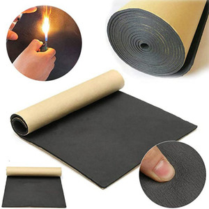 1Roll 200cmx50cm 10mm Car Sound Proof Deadening Upgarded Car Truck Anti-noise Sound Insulation Cotton Heat Closed Cell Foam