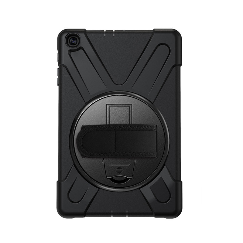 Shock-Proof Strap Cover Case Swivel For Samsung Galaxy Tab A10.1(2019) T510/T515