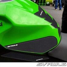 Adesivo protetor para tanque de motocicleta, decalque à altura do joelho com tração para kawasaki ninja400 ninja 400 z400