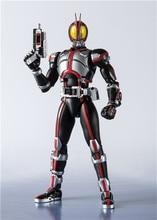 Japan Anime Shf Masked Rider Faiz 20 Kamen Rider Kicks Ver. Bjd Action Figure Model Speelgoed