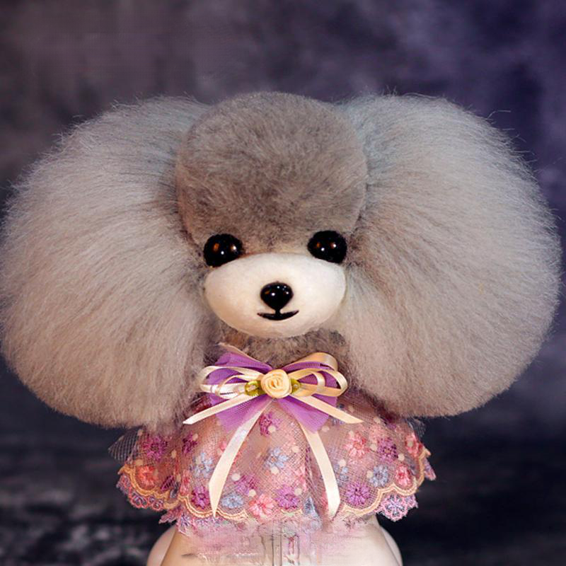 Grooming Model dog Teddy bear head mannequin for font b Pet b font goomers trimming practice