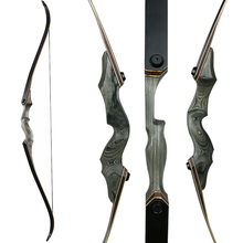 Archery Hunting Bow Recurve Bow for Left/Right-handed Wooden Take-down Bow Adult Outdoor Shooting Target Practice Bow