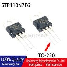 Yeni orijinal 5 adet 110N7F6 STP110N7F6 110A 68V MOSFET TO220 transistör