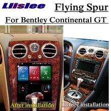 Bentley Continental GT GTC Bentley Continental Flying Spur 2003 ~ 2018 NAVI auto reproductor Multimedia Radio GPS navegación de mapa