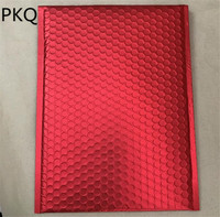 30pcs Red Bubble Envelopes Bags Mailers Padded Shipping Envelope Waterproof Foam Mailing Bag Business Supplies 20x25cm/25x32cm