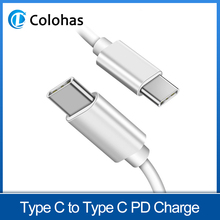 USB Type C to Cable for Xiaomi Redmi K20 Samsung Galaxy S9 Plus Support PD 3A Quick Charge Type-C Devices