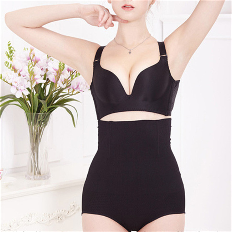 Inadice Female High Waist Control Panties Women Clothes  Fashion Polyester Body Shaper Sexy Underwear Seamless Black Corset Belt