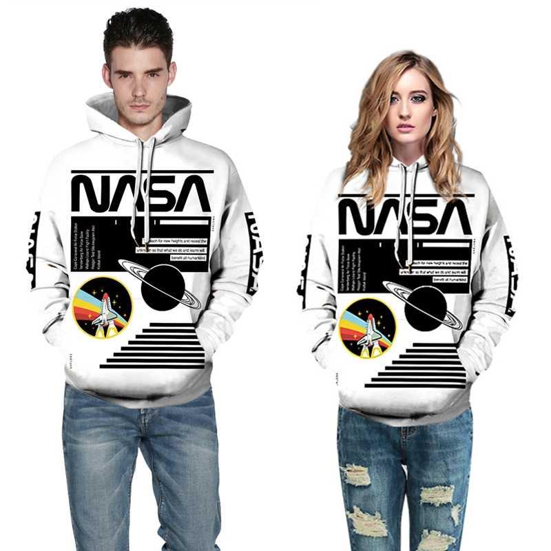 Hoodie for Women//Men Womens//Men Casual Long Sleeve Pullover Ladies New 3D Printed Wolf Loose Hooded Sweatshirt Tops