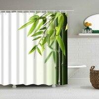 Cortinas de ducha Frabic con estampado Floral y flores coloridas, cortina de baño de poliéster impermeable con ganchos, 180x180cm