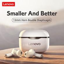 Original Lenovo LP1 Wireless Bluetooth Earphones Touch Control Sports Headphones HD Call Stereo Bass with Mic Sweatproof Earbud