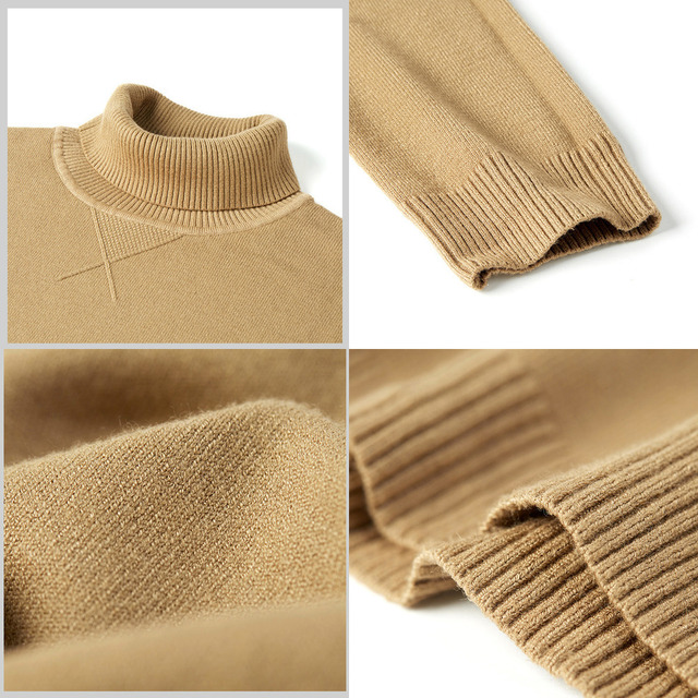 New Spring Plain Casual Jumper For Male Brand Knitted Korean Style 5