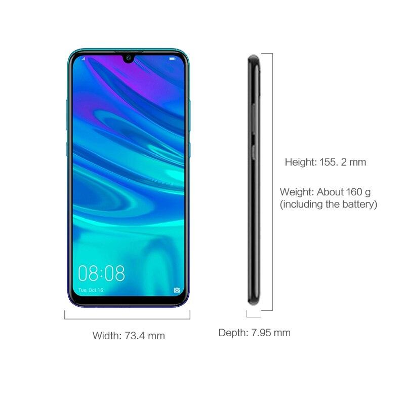 "Image 3 - Original HUAWEI P Smart 2019 6.21"" FHD 3400mAh Mobile phone Kirin710 Octa core EMUI 9.0 NFC 3GB 64GB FCC LTE CellphoneCellphones   -"