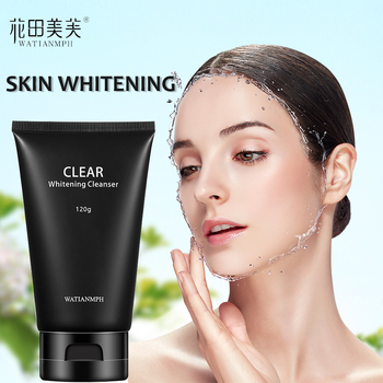 WATIANMPH Facial Cleanser Whitening Face Wash Moisturizing Remover Melanin Makeup Foam Deep Cleansing Face Care 120G недорого