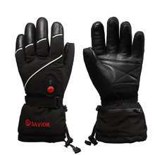Лыжные перчатки с электрическим подогревом 3 уровня температуры