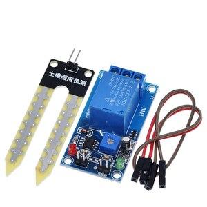 Image 2 - Dc 5V 12V Bodemvocht Sensor Relais Controle Module Automatisch Sproeisysteem Van De Vochtigheid Beginnend Switch