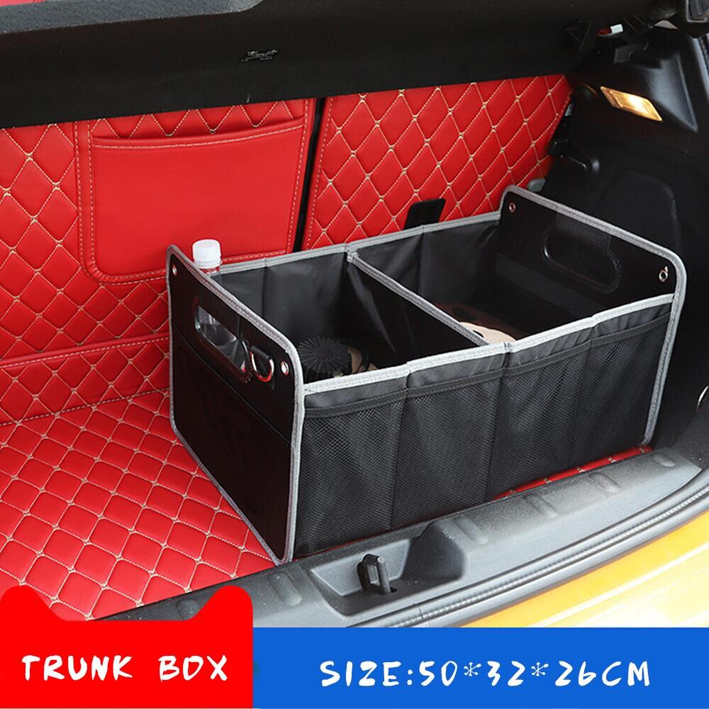 >Car Trunk Organizer Box Storage Stowing Tidying Accessories For Ford Focus 2 <font><b>3</b></font> 1 Fiesta Mondeo 4 <font><b>3</b></font> <font><b>Transit</b></font> <font><b>Fusion</b></font> Kuga Ranger