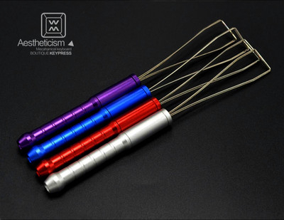 1pc Steel Wire Mechanical Keyboard Keycap Puller Remover