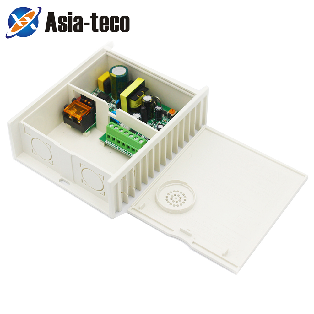 Mini Access Control Power Supply Door RFID Fingerprint Supplier Adapter Covertor System Machine DC 12V 2A AC 100~260V