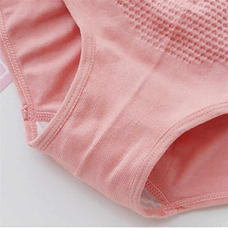 Ropa interior térmica para mujer, otoño e invierno, panal sin costuras, corte cálido, talla grande, ropa interior de vientre, lencería, Bragas para mujer 7