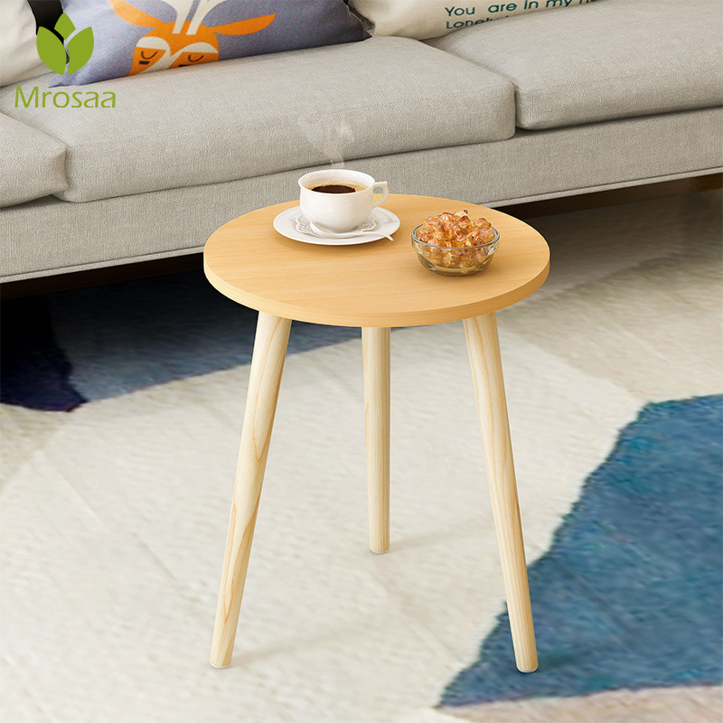 Coffee Table Wooden Round