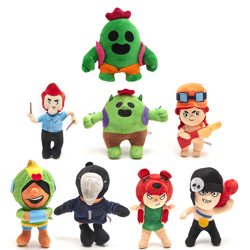 8 Styles 20 CM Plush Toy Stuffed Doll Anime Cartoon Birthday Christmas Gift For Kids WJ350