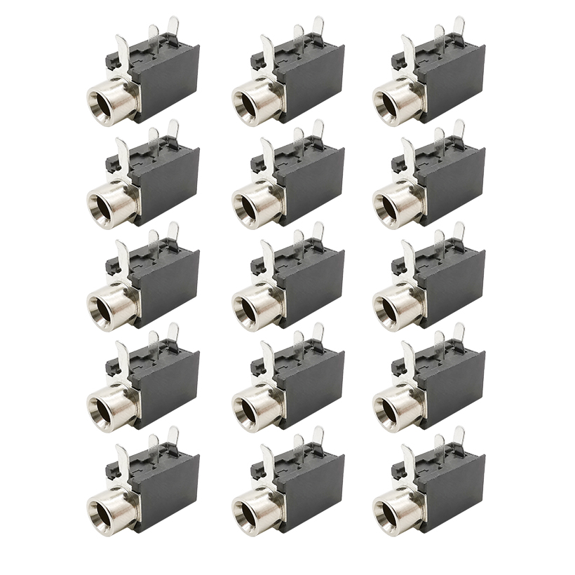 2/5/10/20Pcs PJ316 3 Pin 3.5mm Female Socket Audio Video Terminals Connector DIP-3 PJ-316 PCB Mount Jack Interface Adapter