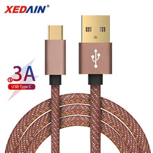 USB Type C Cable for Xiaomi Redmi Note 7 Mi 9 Fast Charging Data Sync USB C Cable for Samsung Galaxy S9 Oneplus 6t Phone Type-C type c charger cable typec charging cable data sync for oneplus 3t leeco xiaomi mi5s plus note 2 for huawei mate 9