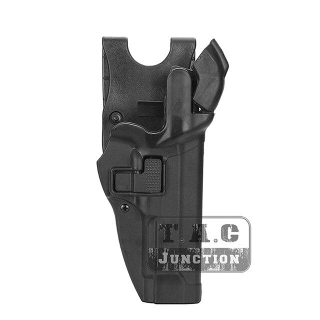 Тактическая кобура для пистолета Beretta 92 96 M9, удерживающая кобура для уровня 3, с автоматической блокировкой, для правой руки, для страйкбола
