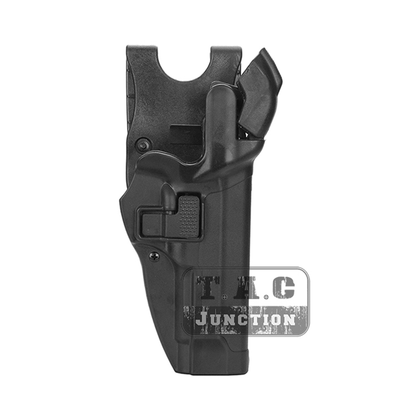 Tactical Pistol Holster For Beretta 92 96 M9 Serpa Level 3 Retention Auto Lock Duty Right Hand Waist Belt Airsoft Pistol Holster