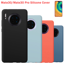 Official Original Silicone Case Protection Cover For Huawei Mate 30 Mate30 Pro Mobile Phone Housings Cases