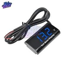 0.56 Inch Mini Digitale Led Voltmeter Dc 8 18V IPX6 Waterdichte Voltage Meter Volt Tester 5V 12V Voor Auto Elektrische Motorcyc