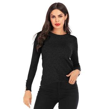Casual Knitted Sweater Women Streetwear O-Neck Long Sleeve Pullovers Loose Solid Coat Autumn Winter Fashion Women's pull jumper autumn winter women cotton sweaters and pullovers korean style long sleeve o neck casual sweater loose solid knitted pullovers