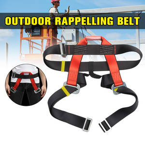 Safety-Belt Harnesses Half-Body for Rock Climbing-Downhill Protecting Outdoor