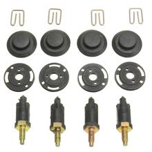 4 комплекта зажимов скобы винты HDI крышка двигателя зажим Болт Капот комплект для CITROEN PEUGEOT 206 207 306 307 806