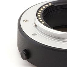 Pixco otomatik odak makro uzatma tüpü için uygun Fujifilm FX X A5 X A20 X A10 X A3 X A2 X A1 X T2 X E3 X E2S kamera