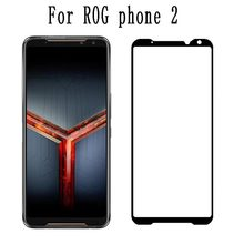 Full Glue Tempered Glass For Asus Rog Phone 2 ZS660KL Screen Protector Full Coverage Screen Protection Film Glass For Rog Phone2(China)