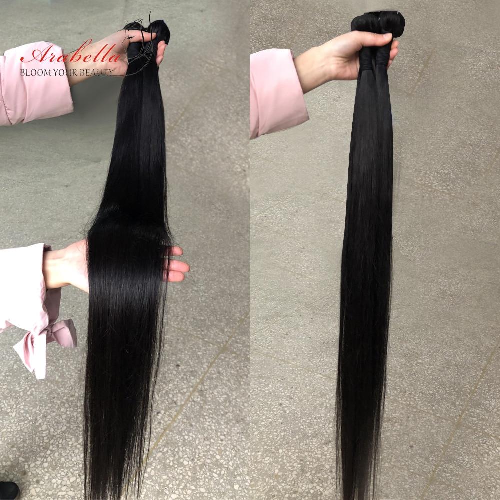 Arabella Hair s 3/4 Bundles 100%   Bundles 1B  Straight Hair   Hair s Bundles 4