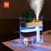 XIAOMI 319 Klar Kaktus Ultraschall-luftbefeuchter 160ML Farbe Licht USB Air Purifier Anion Nebel Maker Wasser Zerstäuber Luftbefeuchter