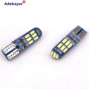 Image 2 - 500 PCS T10 W5W 194 רכב LED נורות 12V 3014 15 SMD לבן סיליקון אוטומטי תא מטען אורות חניה אור פנים כיפת קריאת מנורת הנורה