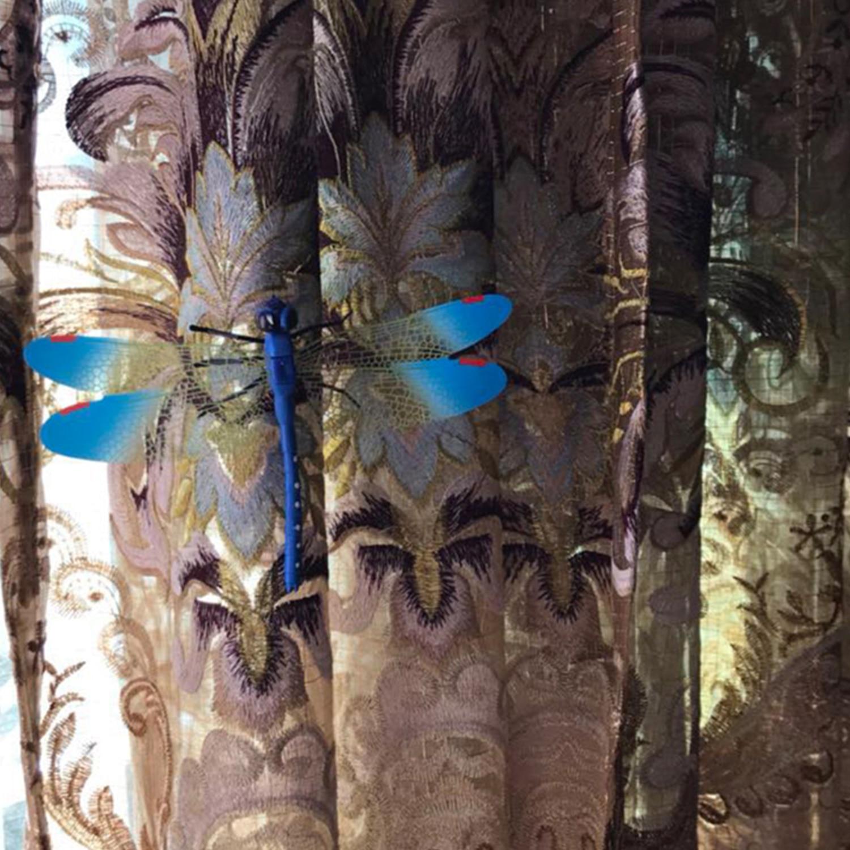 4 шт. наклейки на холодильник ПВХ стрекоза форма наклейка на стену Съемная домашняя Детская уличная ограда садовая лужайка Diy Декор