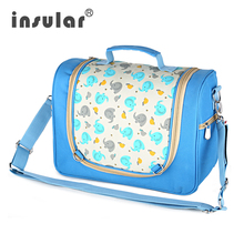 New cartoon baby trolley Trailer special multi-functional mother-baby bag simple