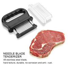 Knife Tenderizer-Hammer Steak-Mallet Meat Needle Cooking-Tools Pounder Stainless-Steel
