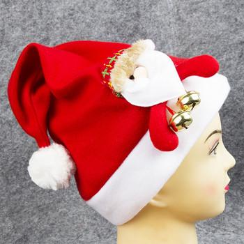 Unisex stroje imprezowe kapelusz dla dorosłych boże narodzenie Santa czapki dla dorosłych na zewnątrz dla świętego mikołaja śmieszne czapki Cap Party dorośli zima tanie i dobre opinie christmas hats adult Patchwork hats for women party costumes christmas party costume adult hat men cap windproof cap santa hat